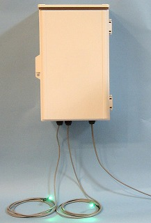 ホタル点灯装置の外観